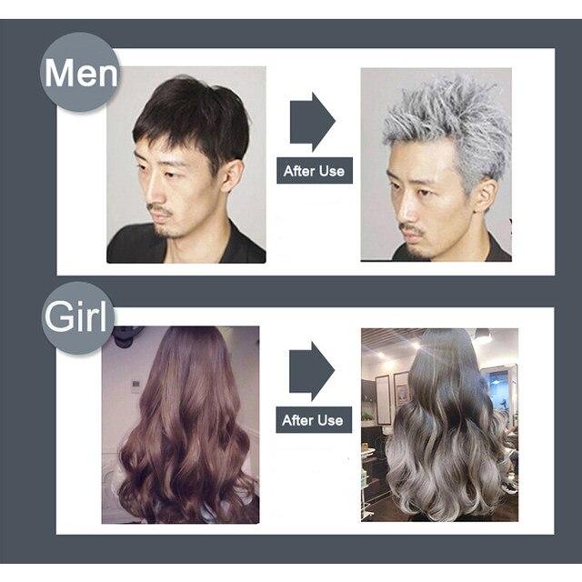 Online Shop Gray Hair Color Dye Cream One-Time Temporary Hair ...