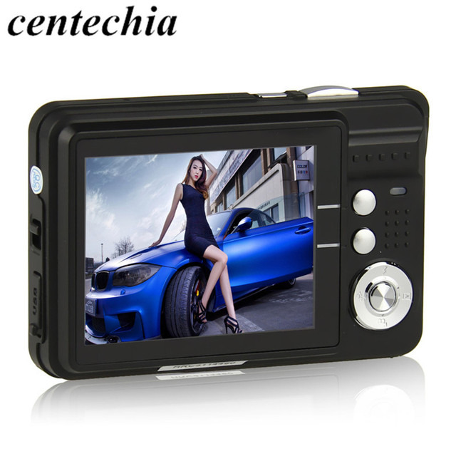 Camera Digital HD K09 2.7 inch TFT LCD Camcorder CMOS Senor 8x Digital Zoom Anti-shake Anti-red eye Portable Digital Camera