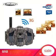 Bolyguard 3G caza Trail juego Cámara 30MP 1080PH inalámbrico Photo Trap Cámara 100ft SMS MMS GPRS salvaje Cámara chass imagen térmica