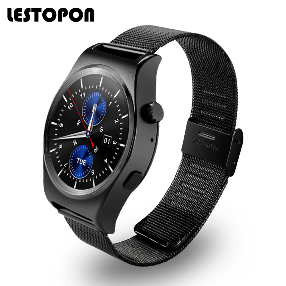 LESTOPON Hot Smartwatch Bluetooth Smart Watch Watches With Heart Rate Monitor Pedometer Fitness Wearable Devices for IOS Android new curren x4 smart phone watch heart rate step counter stopwatch ultra thin bluetooth wearable devices sport for ios android