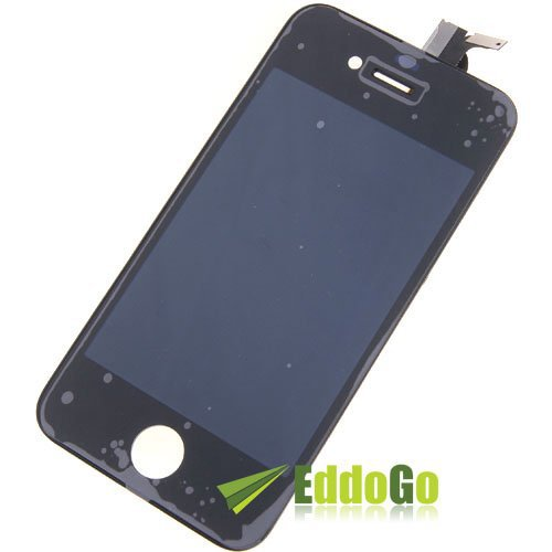 Replacement lcd display + touch screen digitizer assembly for iphone 4G black Free shipping робби уильямс верона