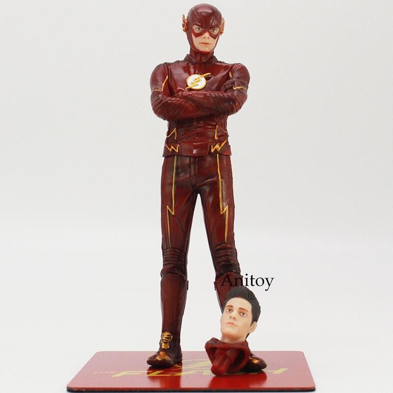 The Flash 1/10 Scale Pre-Painted Figure Artfx+Statue Allen Doll PVC Action Figure Toy 16.5cm 1