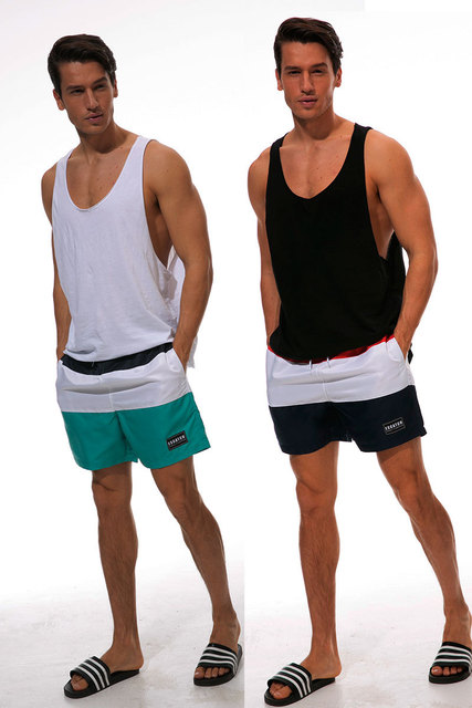 Summer Swimwear Board Shorts  Mens Board shorts Bermuda Beach Shorts SwimTrunks Beach wear Quick Dry Short Plus size M to XXXL