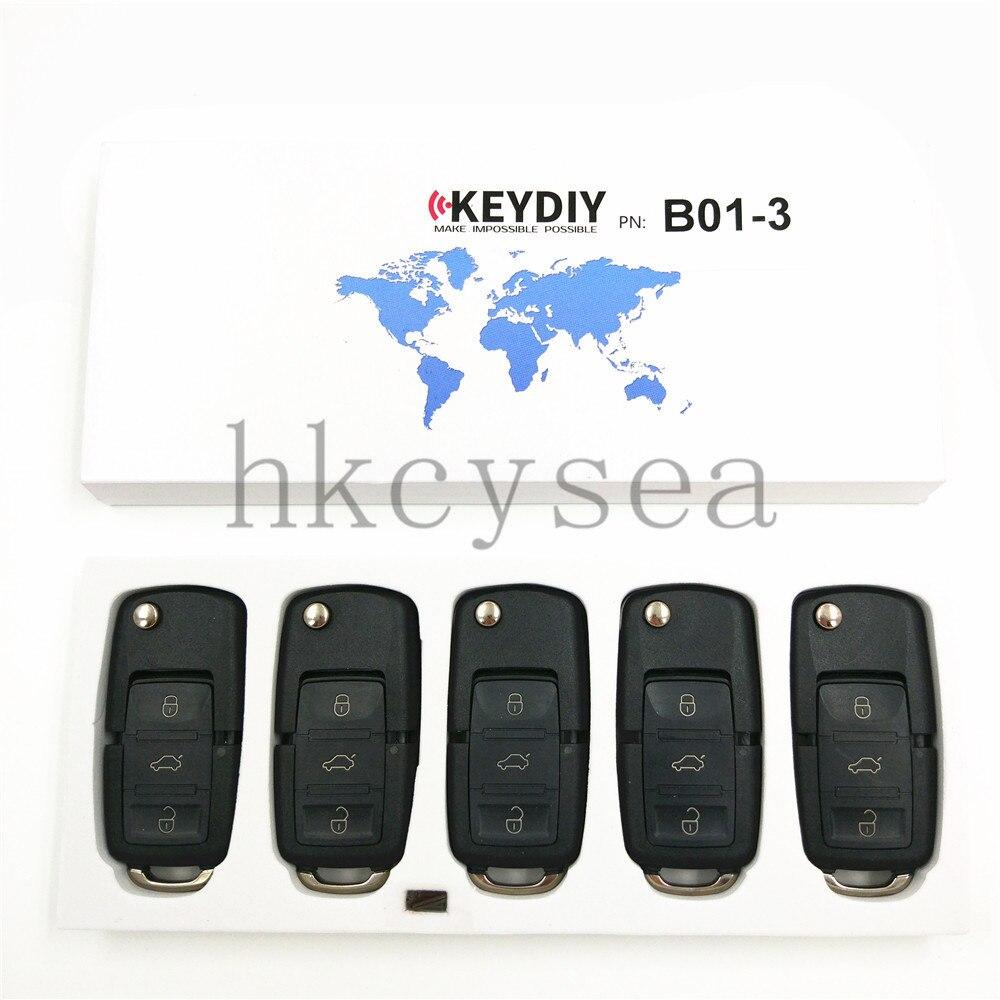 Prix pour 5 PCS/LOT 3 Boutons À Distance Clé B01-3 pour KD900 KD900 + URG200 Programmeur principal B Série À Distance Clé