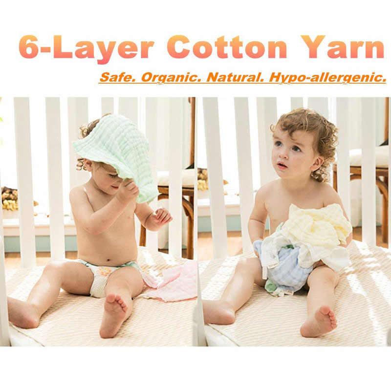 3 sztuk Baby muślin myjki naturalne muślin bawełniane chusteczki dla niemowląt miękkie noworodka ręcznik do twarzy dla dzieci muślin myjka dla skóra wrażliwa
