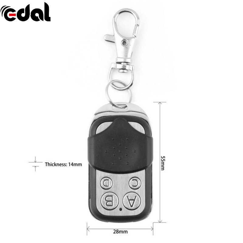 EDAL 1 шт. 433,92 МГц Портативный электрическое клонирование переключатель универсальный ворота гаража двери дистанционного управления ключ