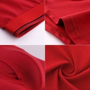 Image 4 - Calzoncillos bóxer de algodón para hombre, ropa interior, Sexy, talla grande, 6 unidades por lote