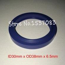 Hydraulic ram seal wiper 30mm x 38mm 5mm 6.5mm