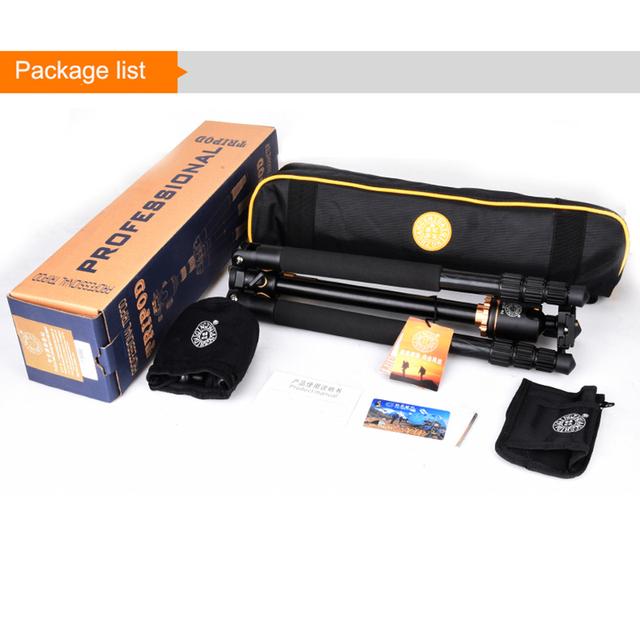 Professional Camera Flat Tripod 61″ Portable Compact Flexible Tripod