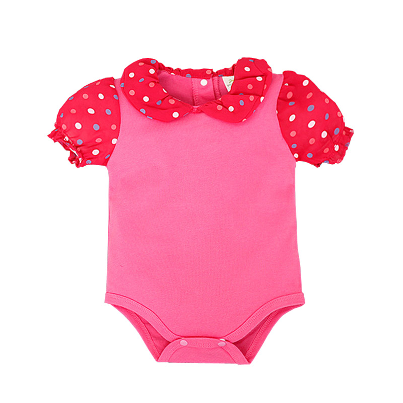 Newborn Baby Girl Bodysuits Summer Short Sleeve Jumpsuits Cotton Body Bebe Clothing Baby Bodysuits Ropa Infantil Onesie