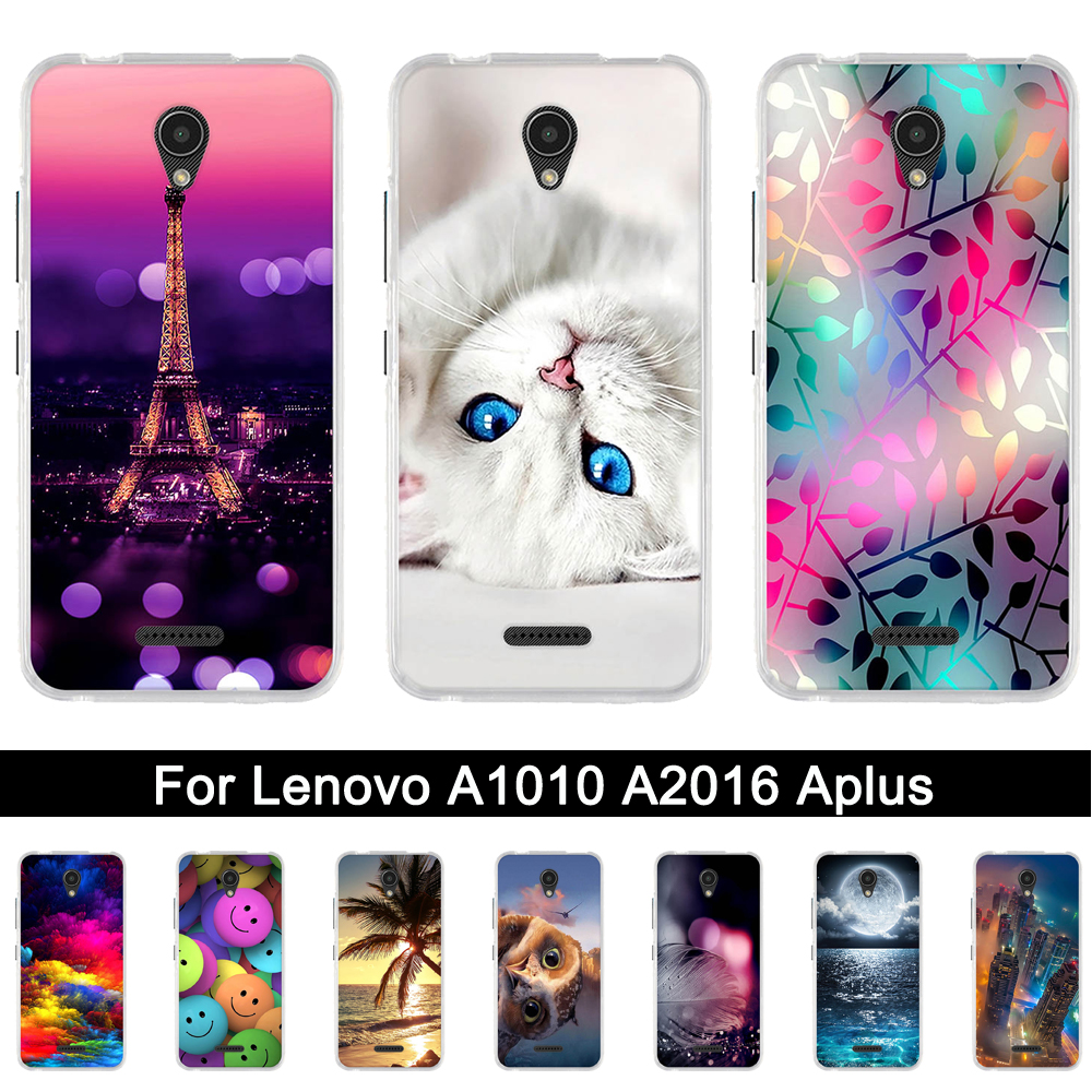Silicone <font><b>Case</b></font> <font><b>For</b></font> <font><b>Lenovo</b></font> A2016 <font><b>A1010</b></font> A Plus A1010a20 A2016A40 Soft TPU Back Phone <font><b>Cases</b></font> Cover <font><b>For</b></font> <font><b>Lenovo</b></font> <font><b>A1010</b></font> APlus A 1010 Bags image