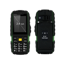SUPPU X6000 Quad Band Unlocked Phone Flashlight IP67 Waterproof Dustproof Shockproof Bluetooth Music Playing