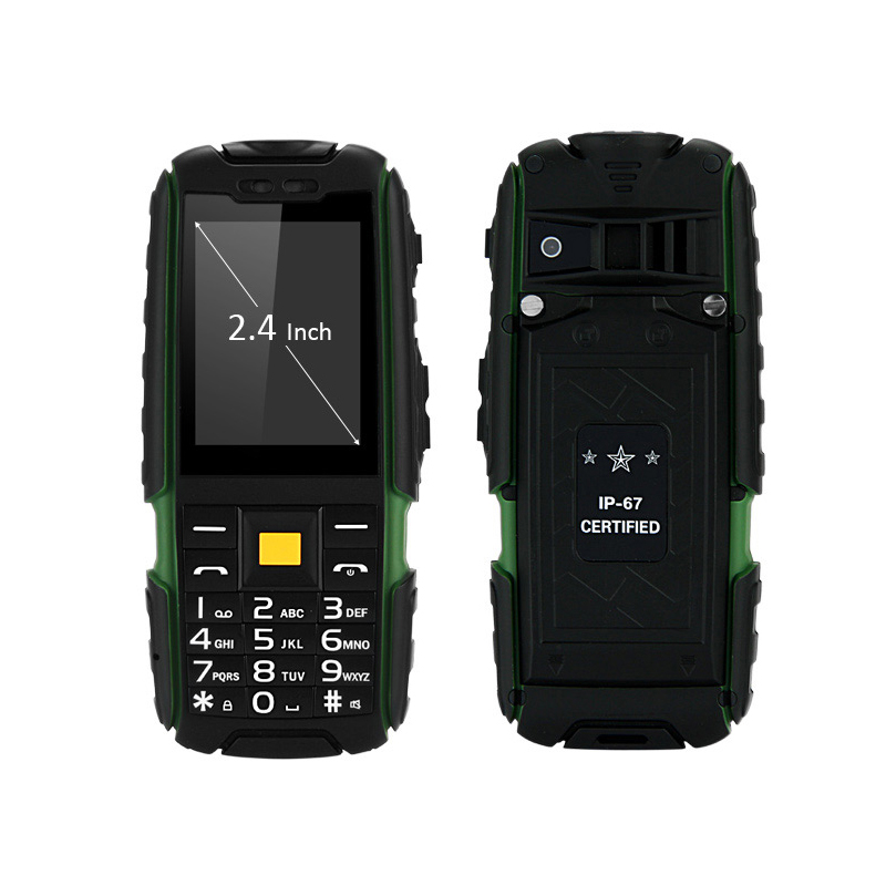 Suppu X6000 Quad Band телефон фонарик <font><b>IP67</b></font> Водонепроницаемый пыле противоударный Bluetooth музыка играет