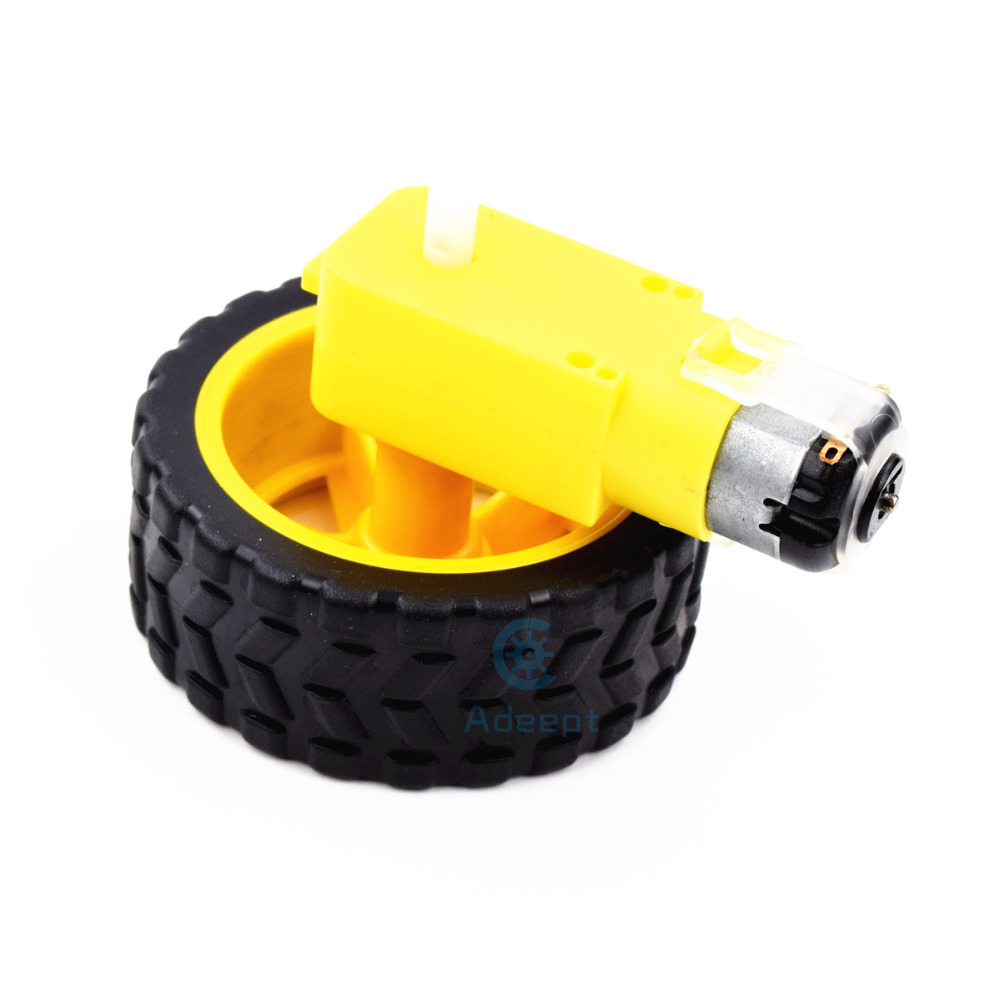 Adeept Smart τροχός ρομπότ πλαστικών - Έξυπνα ηλεκτρονικά - Φωτογραφία 3