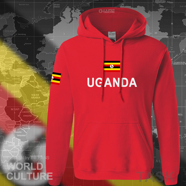 Uganda Ugandan hoodies men sweatshirt sweat new hip hop streetwear tracksuit nation clothing sporting country flag UGA Uganda 3