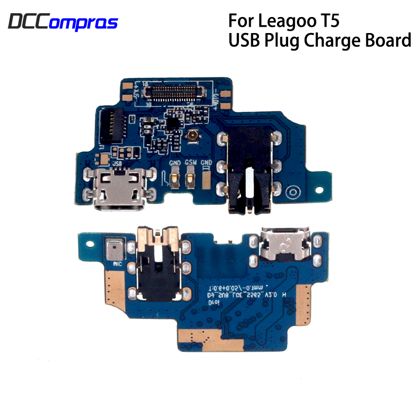 USB Plug Charger Board For LEAGOO T5 Repair Parts Charger Board For Leagoo T5 T5C USB Board