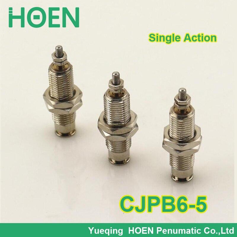CJPB6-5 SMC type Mini cylinder CJPB series 6mm bore 5mm stroke single acting spring return needle pin air pneumatic cylinder 6*5