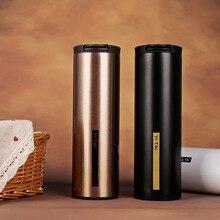 450 ML taza de Acero Inoxidable Con Aislamiento Termo Termos Termos Termo Coche Thermocup de Viajes taza De café Drinkware