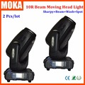 2 Pcs/lot High Brightness 10R 280W Beam Moving Head Light