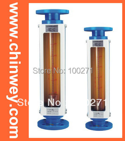 LZB -15 glass rotameter flow meter  for liquid and gas ,flange connection