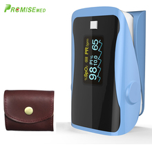 PRCMISEMED Household Health Monitors Pulse Oximeters Finger Oxygen Fingertip Oximeter SPO2 Oximetro-Sky Blue