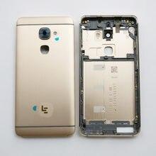 Argento/oro/rosa per LeTV LeEco Le 2 Le2 Pro Le S3 X520 X620 X527 X626 coperchio batteria posteriore custodia custodia parti posteriori in vetro