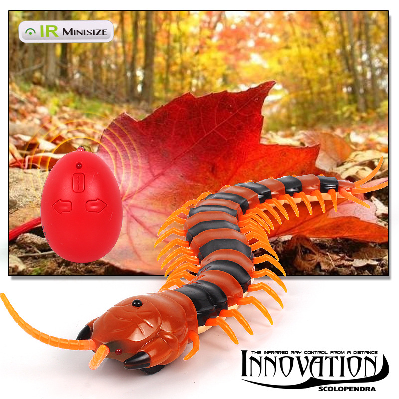 Image 3 - High Simulation Animal Cockroach Spider Ant Infrared RC Remote Control Funny Prank Realistic Insect Snake Kids Adults Jokes Toys-in RC Robots & Animals from Toys & Hobbies