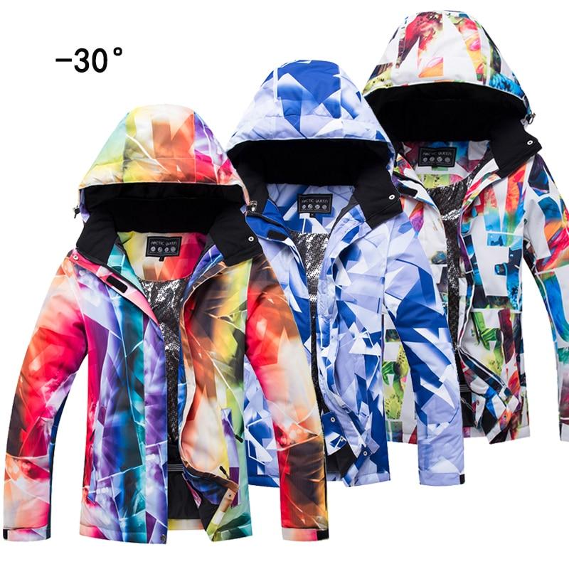 2018 en plein air snowboard veste femmes modèles d'hiver coupe-vent chaud et imperméable respirant haute qualité ski chemise femmes livraison gratuite