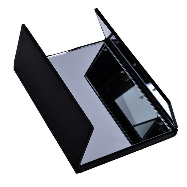 Luces de Mesa portátil 8 Pantalla Táctil LED Maquillaje Espejo Plegable Espejo de bolsillo espejo