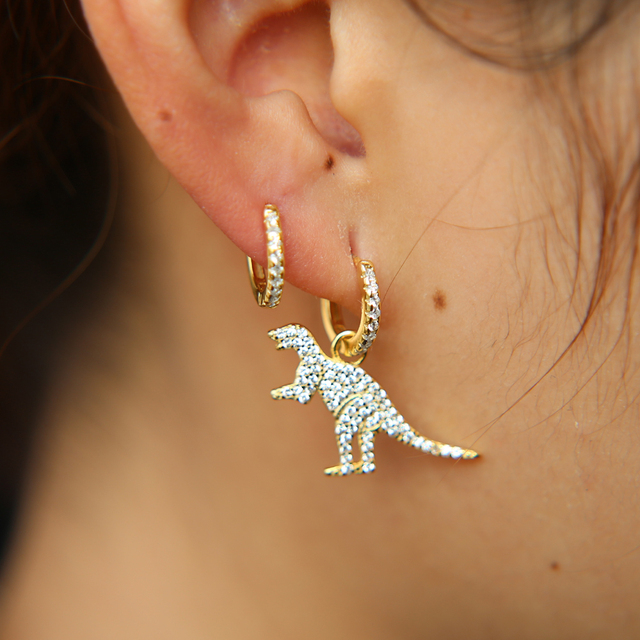 Classic Dinosaur Earrings For Women