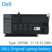 Сменный аккумулятор для ноутбука Dell Vostro V5560 V5460 VH748 V5470 V5480 VH748 14-5439 11,4 V 51.2WH