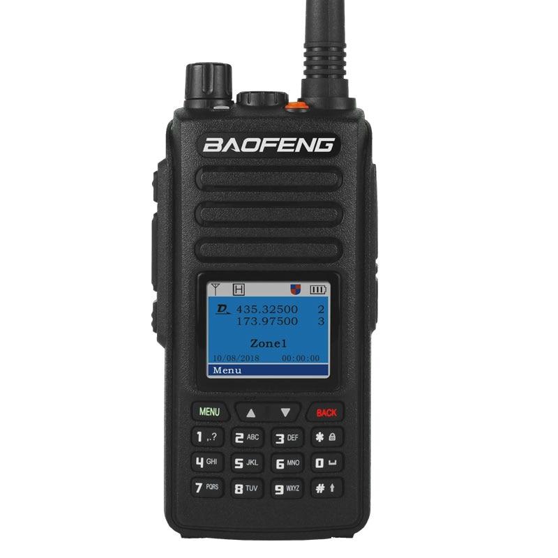 Портативная рация BAOFENG DM-1702 (GPS) VHF UHF Dual Band 136-174 & 400-470MHz Dual Time Slot Tier 1 & 2 ham DMR transeiver