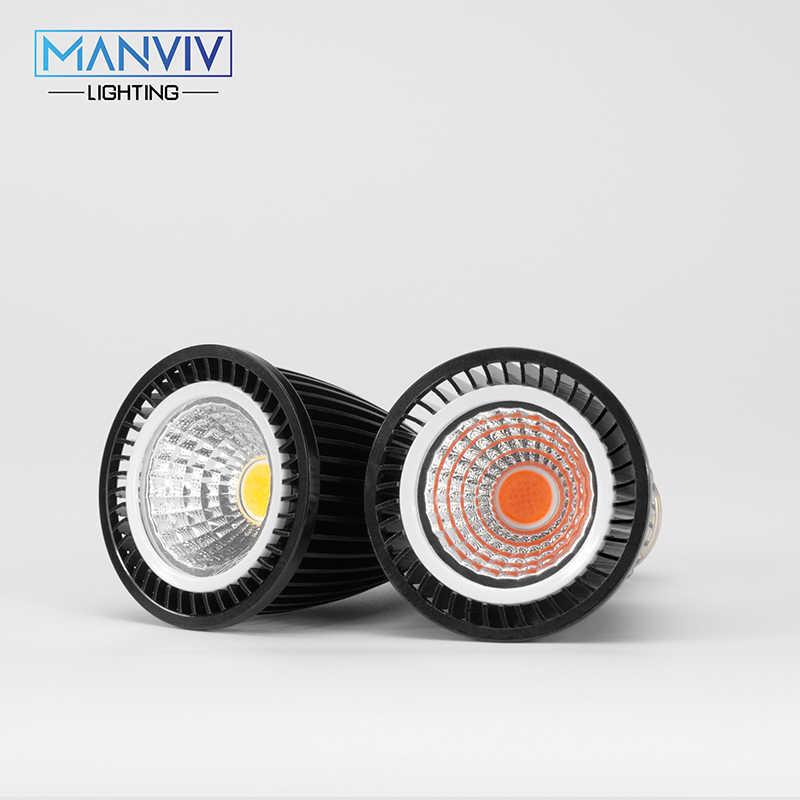 6 шт GU10 MR16 E27 E14 светодиодный прожектор, 5 Вт, 7 Вт, 9 Вт, 12 Вт, 220 V 120 градусов тепличная лампа лампада светодиодный COB Bombillas теплый белый/холодный белый