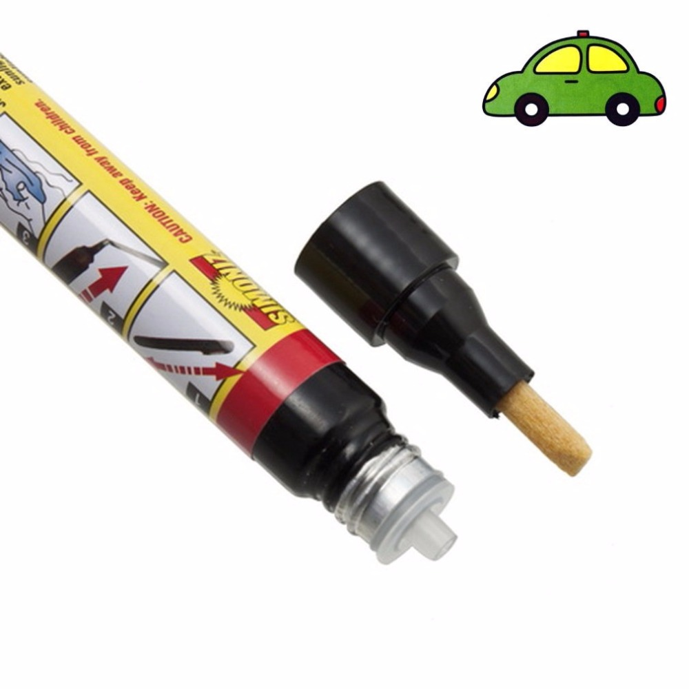 100pcs sikeo car painting pens clear car scratch remover repair pen clear coat applicator for all