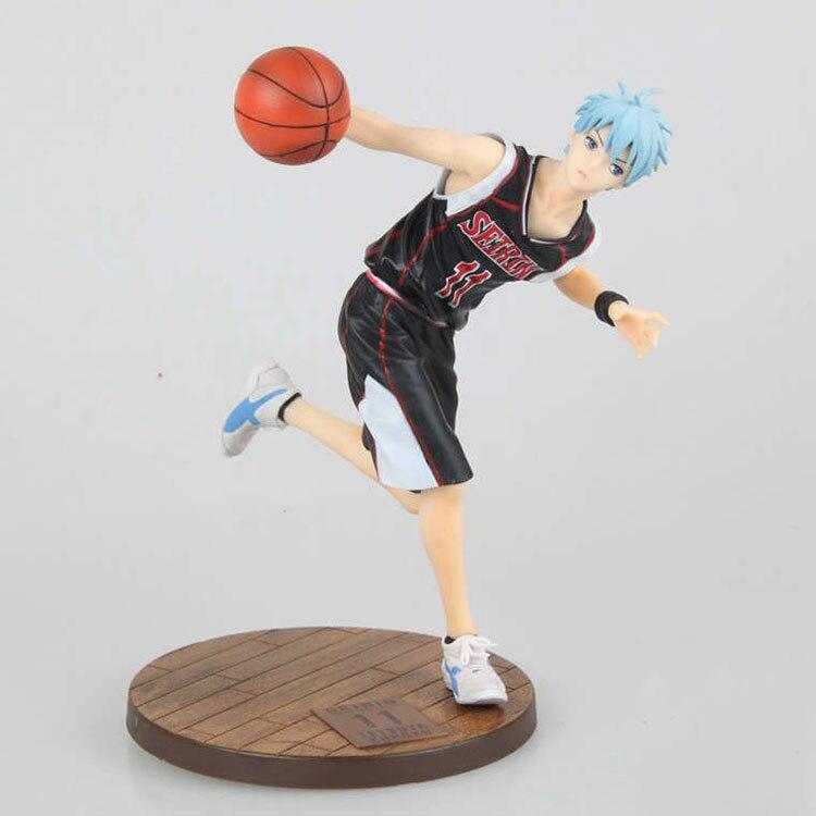 anime figure 19cm Kuroko no Basket Kuroko Tetsuya Slam Dunk Black Player Toys PVC Action Figure JP Anime brinquedos  1