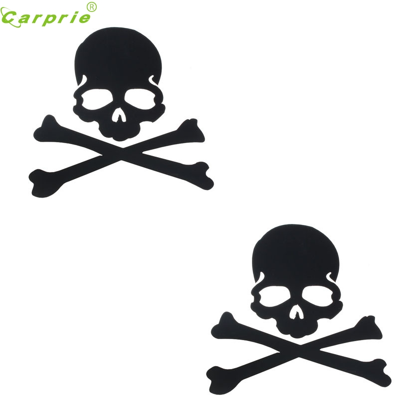 Auto Skull Design car Rearview Mirror Sticker Waterproof vehicle Body car styling car-covers personality auto accessories Jul 20 Стикер