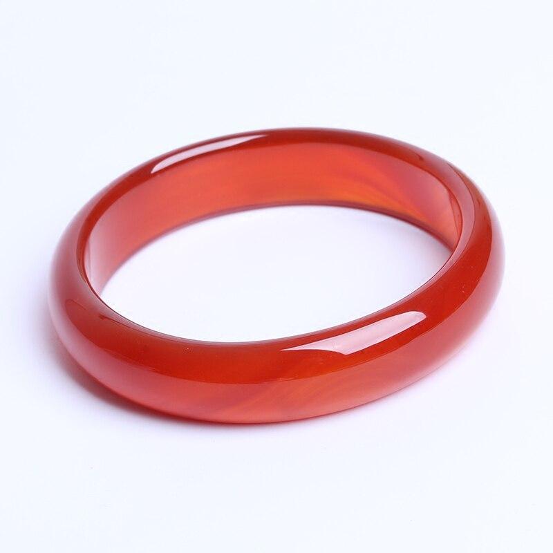 TJP cuff NATURE carnelian sardonyx BEAUTIFUL women sweet red charm agate bangle bracelet luck 56-64MM