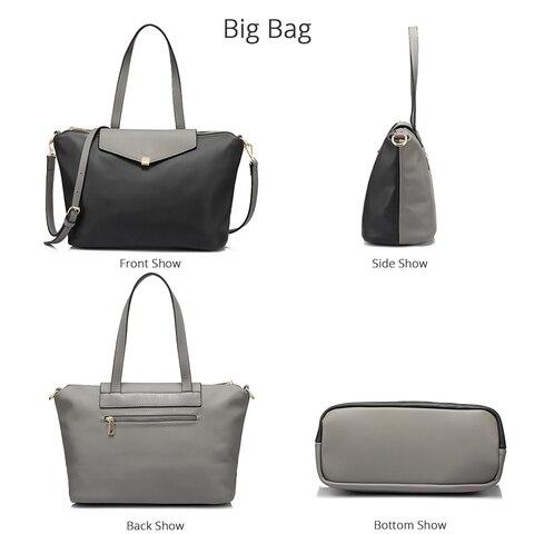 LOVEVOOK handbags women bag large female shoulder crossbody bag small ladies messenger bags high quality PU leather bag set Islamabad