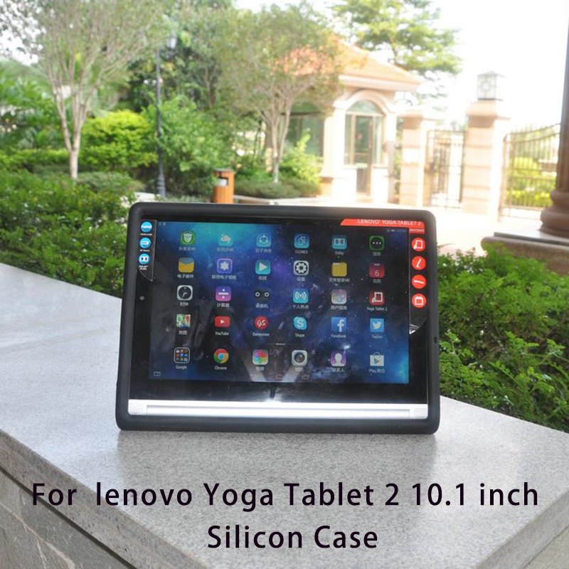 MingShore Silicone Soft Case For Lenovo YOGA TAB2 1050 10.1 Rugged Cover For Lenovo TAB 2 Tablet 2 10.1 1050F 1050L Tablet mingshore durable protective case for yoga tablet 3 850 8 0 silicone cover for lenovo yoga tab 3 model 850f m l 8 0 tablet case