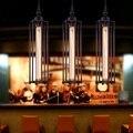 Ретро Лофт Декор железная клетка Droplight Промышленный Эдисон винтажные подвесные лампы столовая подвесные светильники Внутреннее освещение