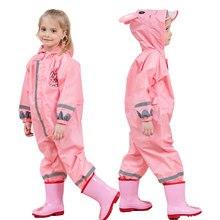 2-9 Year Old Waterproof Raincoat For Children Pants Baby Rain Coat Pnocho Kids Rainsuit Outdoor Boy Girl
