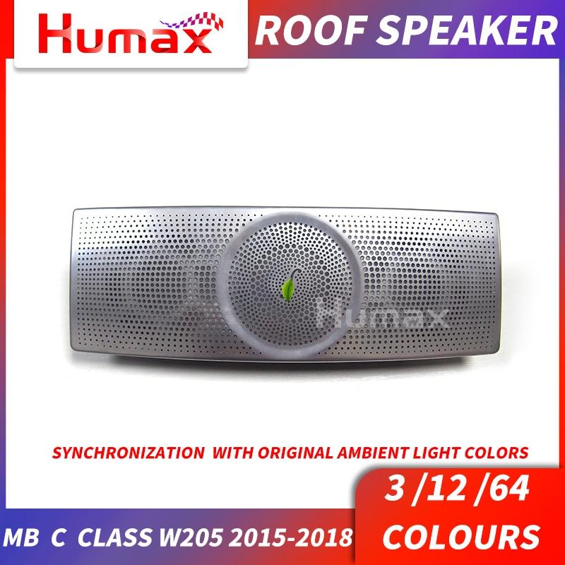 Falante telhado Especial para a classe C w205 interior luz de leitura telhado C200 C300 boa sons falante tweeter orador orador teto