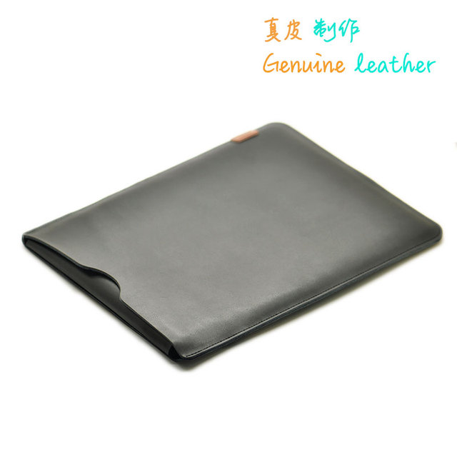 Arrival selling ultra thin super slim sleeve pouch cover,Genuine leather laptop sleeve case for Thinkpad X1 Carbon 2018 5 6th