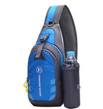 Kültéri Sport Női Multifunkciós Vízforraló Válltáska Utazás Sport Messenger Bag Férfi Nylon mellkasi tasak Crossbody táska