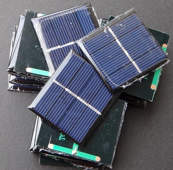 2 V Célula Solar Wide Aplicações de Brinquedo Educação Kits