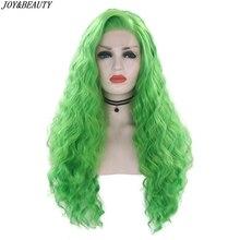 JOY&BEAUTY Green Lace Front Wig 26