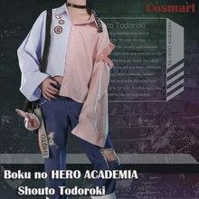 Anime Boku no mi héroe ACADEMIA figura Shouto Todoroki del traje de Cosplay  de la revista de moda desgaste diario conjunto compl. 03e9d8ee8831