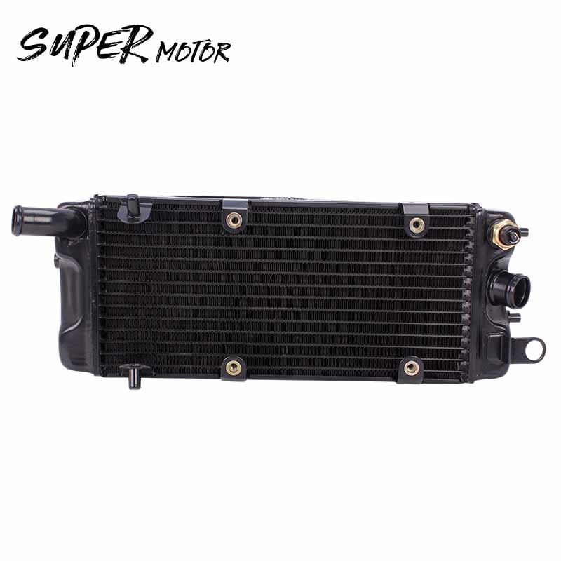 Motorcycle Accessories Water Tank Radiator Cooler Water Cooling For Honda Steed400 Steed600 Steed Horse