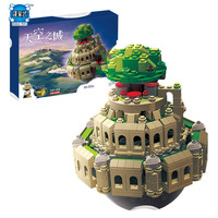 2018 NEW 1179Pcs Creative MOC Series The City In The Sky Set Educational Building Blocks Bricks Children Model Figures Gifts