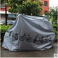 Big Size 210*100 CM MTB Bike Covering Dustproof And Waterproof Scooter Cover UV resistant Motorcycle Cover Gray